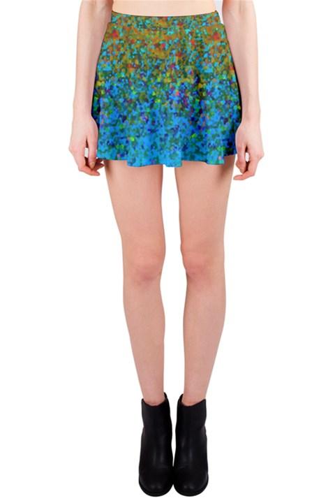 Glitter Dust Background G178 Mini Skirt
