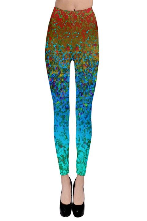 Glitter Dust Background G178 Leggings