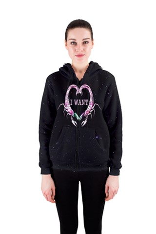 SCORPION HEART 3 Women s Zipper Hoodie