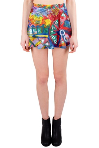 Art Party Mini Skirt