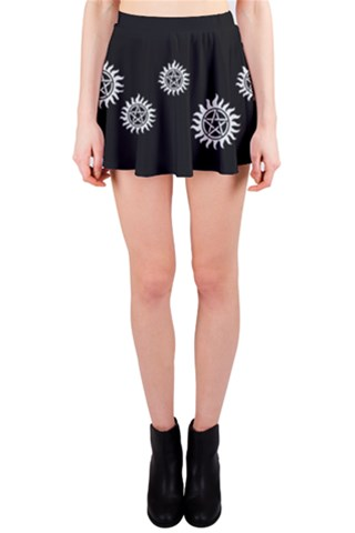 Pentagram Mini Skirt