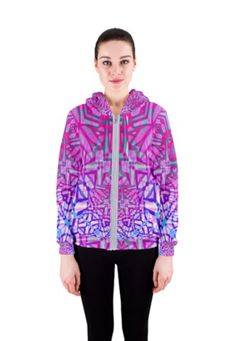 Ethnic Tribal Pattern G327 Women s Zipper Hoodie