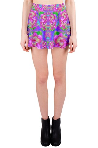 Deep in the floral forest of peace and soul Mini Skirt