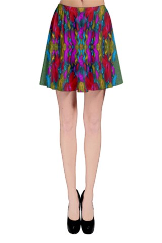 May your wonderful dreams come true in fauna  Skater Skirt