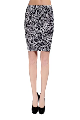 Doodle Style G361 Bodycon Skirt