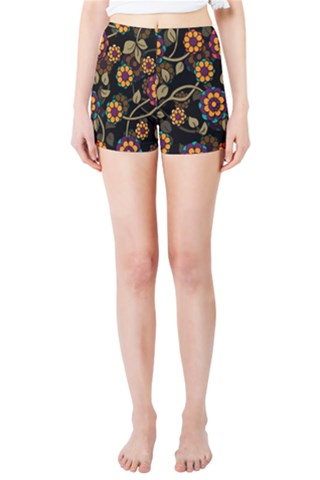 Intertwined Skinny Shorts