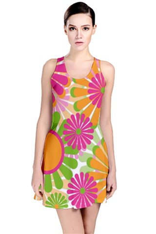 Festive Reversible Sleeveless Dress