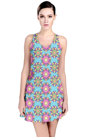 Blossom Reversible Sleeveless Dress