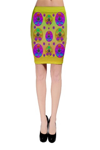 Floral Love And Why Not Bodycon Skirt