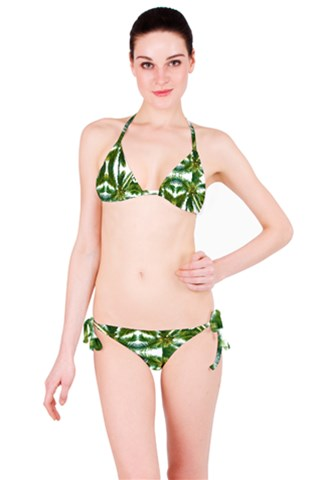 Palm Tree Kaleidoscope Bikini Set