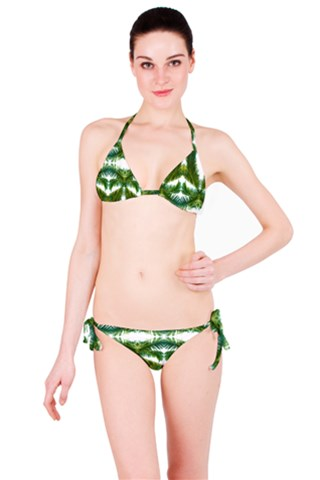Palm Leaf Kaleidoscope Bikini Set