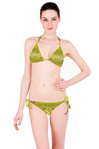 Flower Power Stars Bikini Set