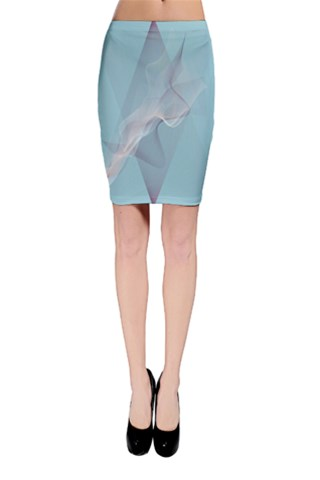 Dancing ghosts Bodycon Skirt