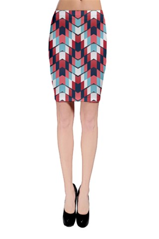 House of cards Bodycon Skirt