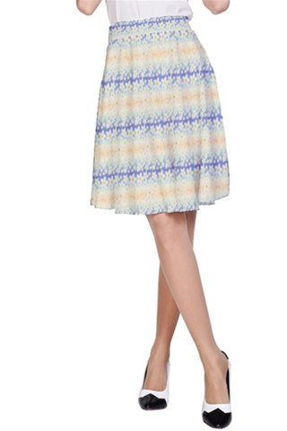 Tropical morning A-Line Skirt