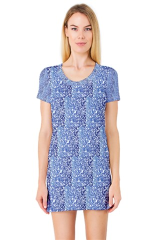 Blues Short Sleeve Nightdress
