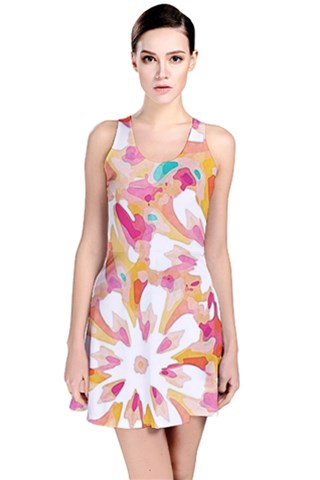 Burst Reversible Sleeveless Dress