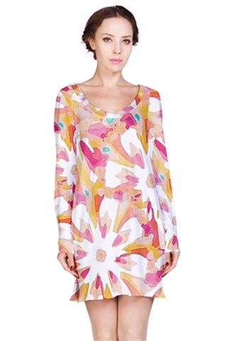 Burst Long Sleeve Nightdress
