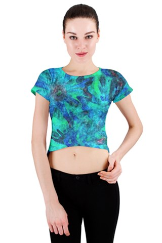Gale Crew Neck Crop Top