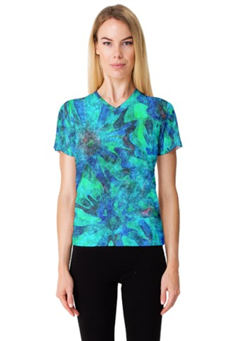 Gale Women s V-Neck Sport Mesh Tee