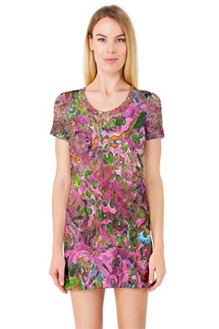 Garden  Short Sleeve Nightdress