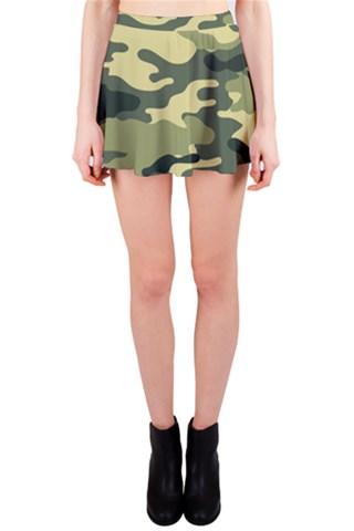 Camouflage Camo Pattern Mini Skirt