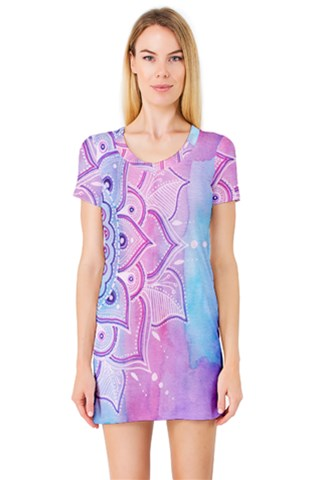 Lightmandala Short Sleeve Nightdress