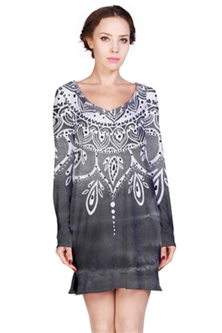 Lizamperinibw Long Sleeve Nightdress